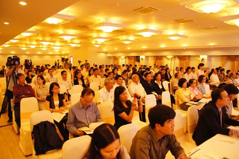 Description: Sự kiện hội thảo Sony. Ảnh sưu tầm